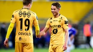 Glimt - Sarpsborg Cup Patrick Berg Joachim Osvold