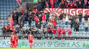 Viking - Brann 0-1: Fredrik Haugen har scoret på overtid
