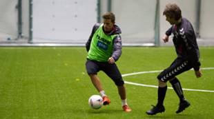 Årets første Brann-trening 2016: Jonas Grønner