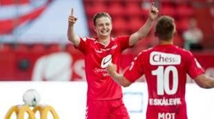 Brann - Fredrikstad 5-1: Erik Huseklepp