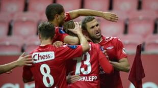 Brann - Lillestrøm 1-2: Guttene feirer Azar Karadas scoring
