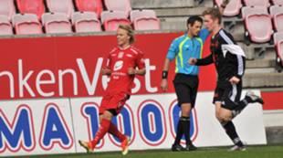 Brann 2 mot Vidar i 2. divisjon på Brann Stadion søndag 22. september. Joachim Bjånesøy.