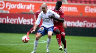 Kapinga Brazy. Brann 2 mot Vard Haugesund, Oddseligaen, Brann Stadion, 1. september 2014.