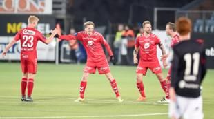 Strømsgodset - Brann 2-1: Erik Huseklepp har redusert