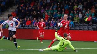 Sogndal - Brann 2-2: Kristoffer Barmen