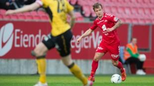 Brann - Start 1-0: Fredrik Haugen