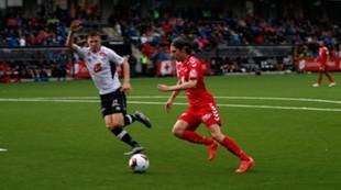 Sogndal - Brann 2-2: Kasper Skaanes