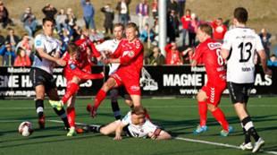 Førde - Brann 0-0: Mads Hvilsom og Kristoffer Barmen