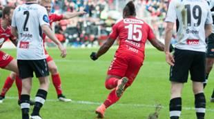Brann - Sogndal 2-0: Bismar Acosta