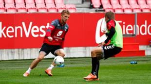 Trening 19. august 2016: Gilli Rólantsson
