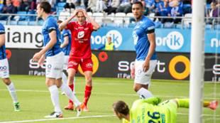 Molde - Brann 2-0: Kristoffer Barmen