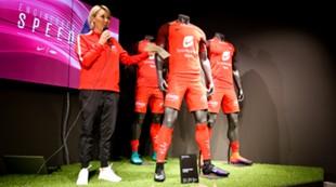 Camilla Schutz presenterer ny drakt og avtale med Nike