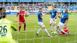 Molde - Brann 2-0: Jonas Grønner og Vadim Demidov