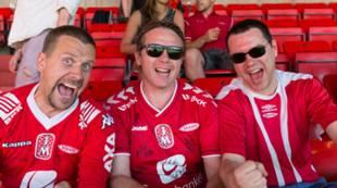 Brann - Hønefoss 2015 Tilskuere Fans Supportere