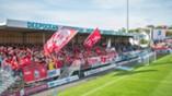 Haugesund - Brann 3-2: Brann-fansen tok hele bortefeltet supportere flagg
