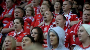 Nystemten Stadion kvartfinalen cupen 2012