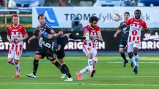 Tromsø - Brann 1-0: Vadim Demidov, Fredrik Haugen og Soufiane Moussa