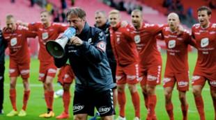 Brann - Strømsgodset 1-0: Dan Riisnes leder an i kokolele etter kampen