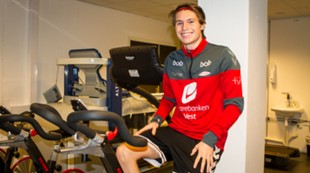 Kasper Skaanes driver egentrening