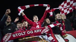 Branns supportere FKH B 2014