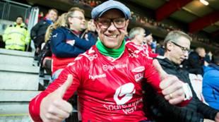 Brann - Bærum 2-2: publikum fans tilskuere supportere
