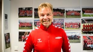 Lars Tjernås på kontoret 2015