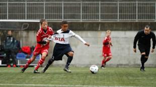 G13 Brann - Tottenham: Henrik Ødemark