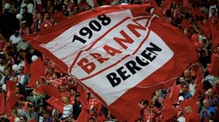 Brann - Rosenborg 1-1: Flagg tilskuere fans