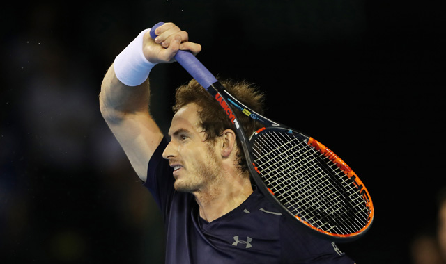 Britain's Andy Murray lost to Juan Martin del Potro but he did hit this awesome winner