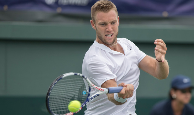 Jack Sock's incredible rally with Borna Coric is Sunday's shot of the day