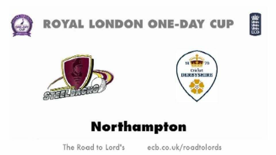 Northants Steelbacks v Derbyshire Falcons