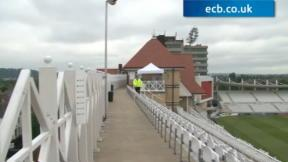 Behind the scenes at Trent Bridge
