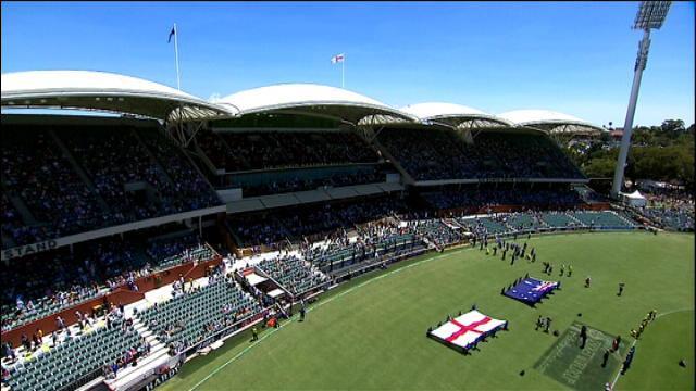 England v Australia: 5th ODI, Adelaide - Australia Innings