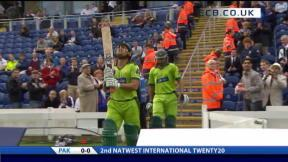 2nd NatWest Int T20 - Pakistan Innings