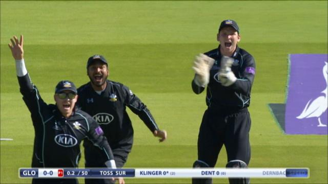 Gloucestershire v Surrey - Royal London One Day Cup - Gloucestershire Innings