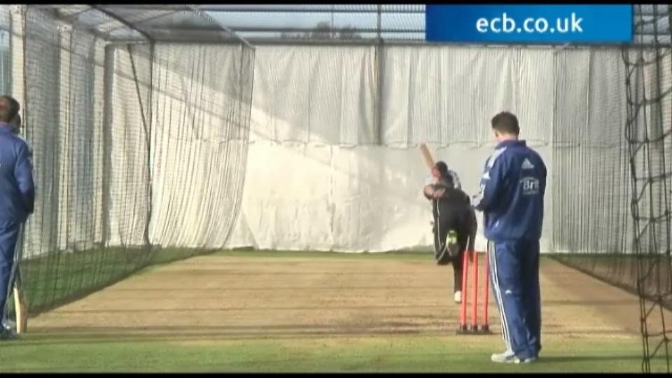 Outdoor nets in November