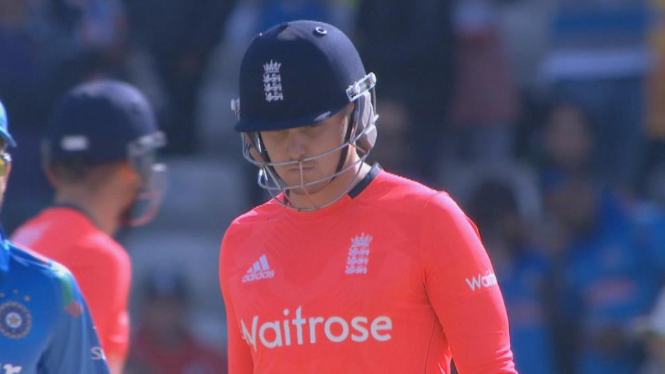 England v India, T20, England innings