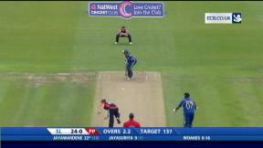 NatWest International T20 - Bristol - Sri Lanka innings
