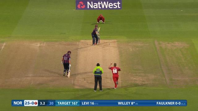 Northamptonshire v Lancashire - NatWest T20 Blast, Northamptonshire Innings