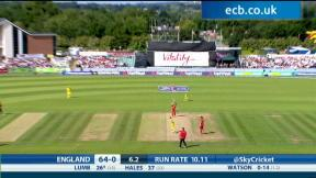 England v Australia - 2nd T20 International highlights