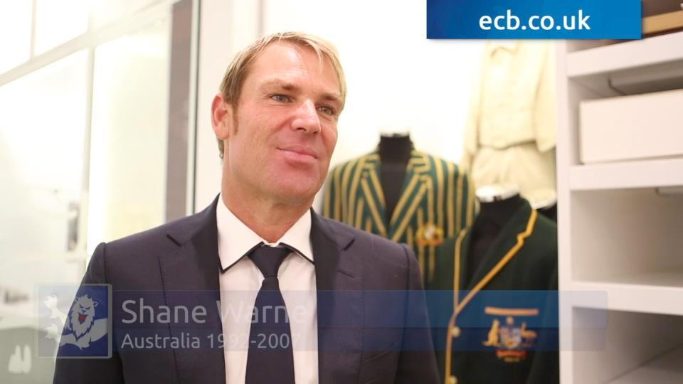 Warne honoured by Hall of Fame induction