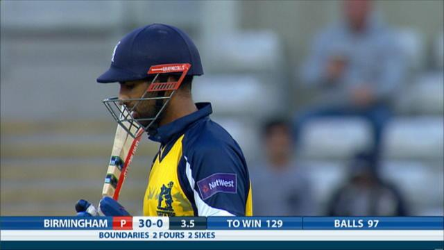 Birmingham Bears v Notts Outlaws - NatWest T20 Blast, Bears innings