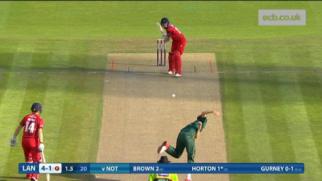 Lancashire Lightnings v Nottingham Outlaws - Natwest T20 Blast, Lancashire Innings