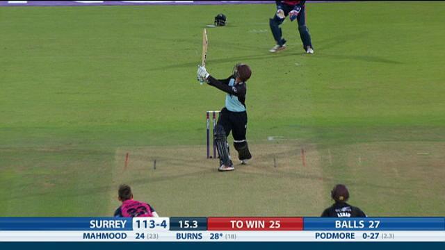 MIddlesex v Surrey - Natwest T20 Blast, Surrey Innings