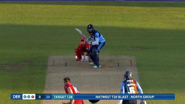 Derbyshire Falcons v Lancashire Lightning - Natwest T20 Blast, Derbyshire Innings