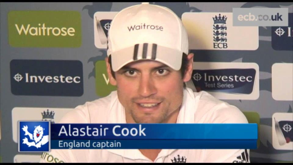Cook reveals top six for Lord's