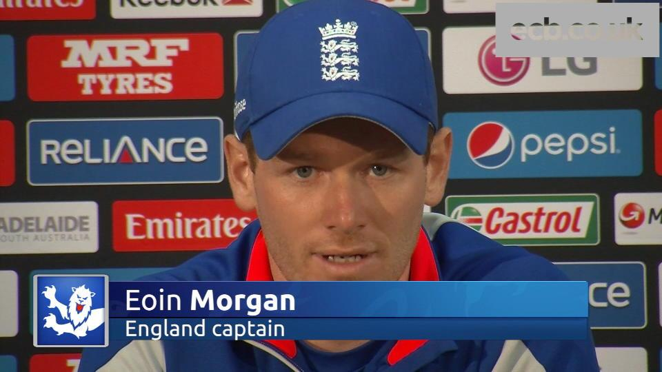 Eoin Morgan focused on moving forward in World Cup