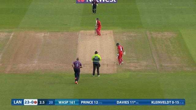 Northamptonshire v Lancashire - NatWest T20 Blast, Lancashire Innings