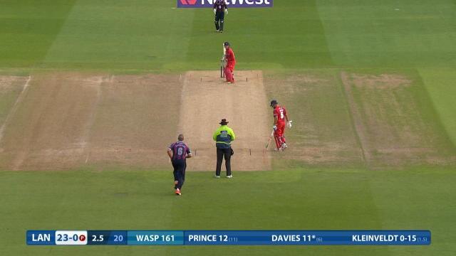 Northamptonshire v Lancashire - NatWest T20 Blast, Lancashire Innings