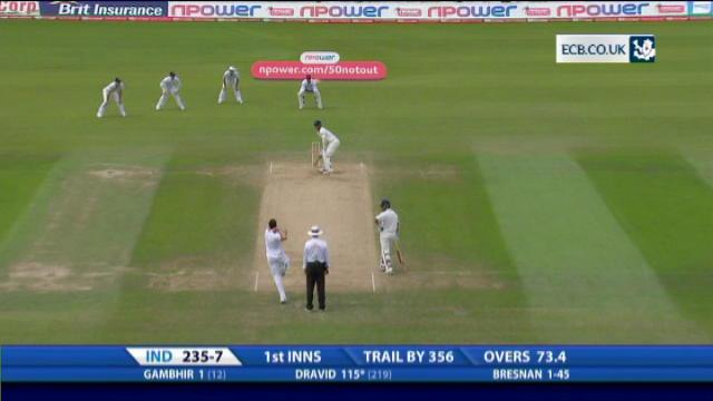4th npower Test - The Kia Oval - Day 4 afternoon